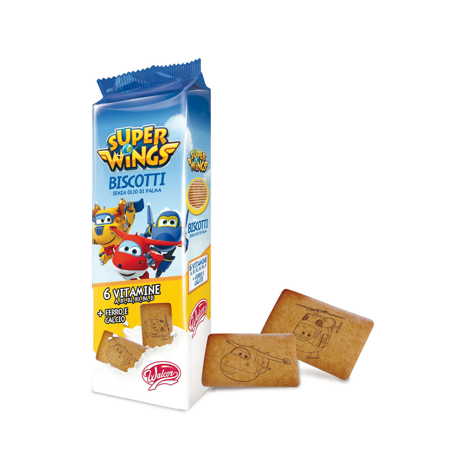 Biscuiti SUPER WINGS Walcor,200g
