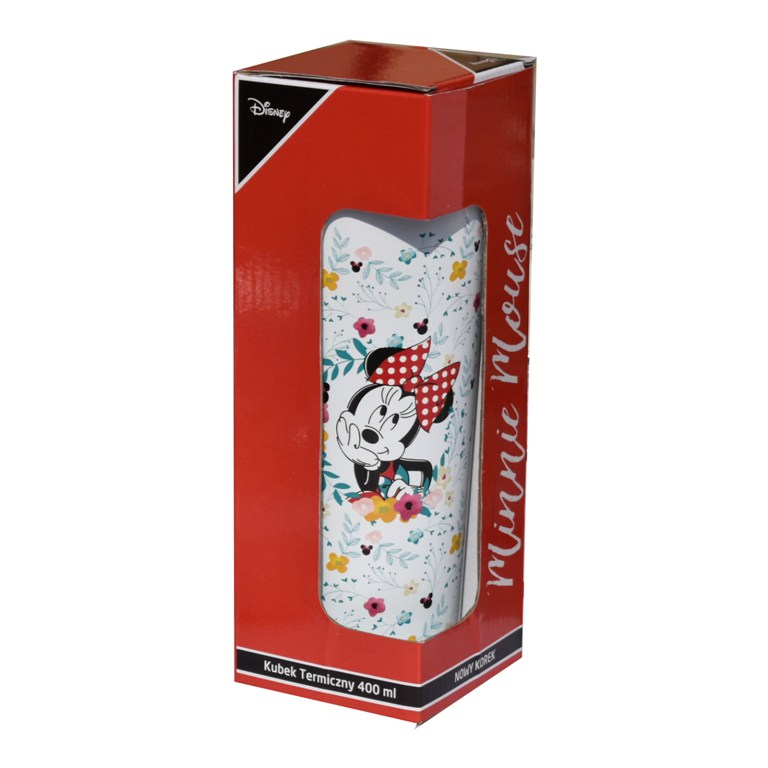 CANA TERMOS 400ML GARDEN MINNIE