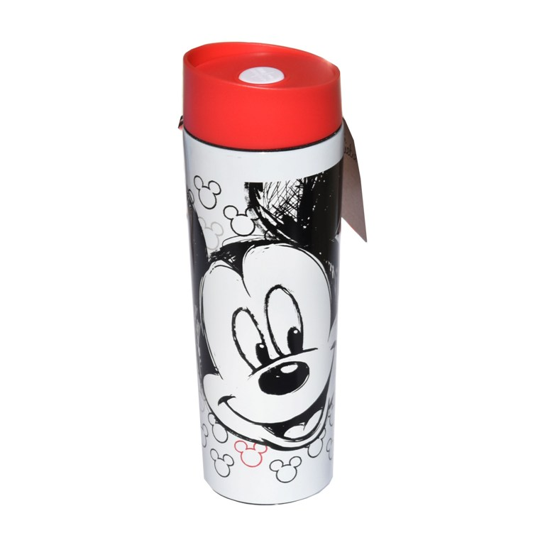 CANA TERMOS 400ML MICKEY MOUSE ROSU