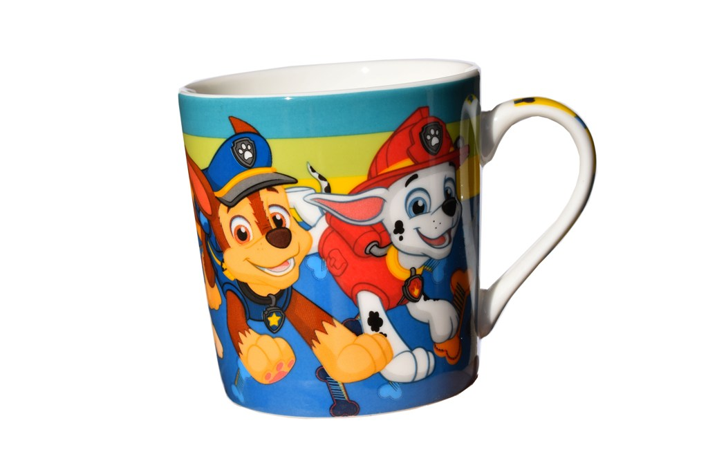 Cana portelan Platrula catelusilor Disney, Multicolor, 250 ml