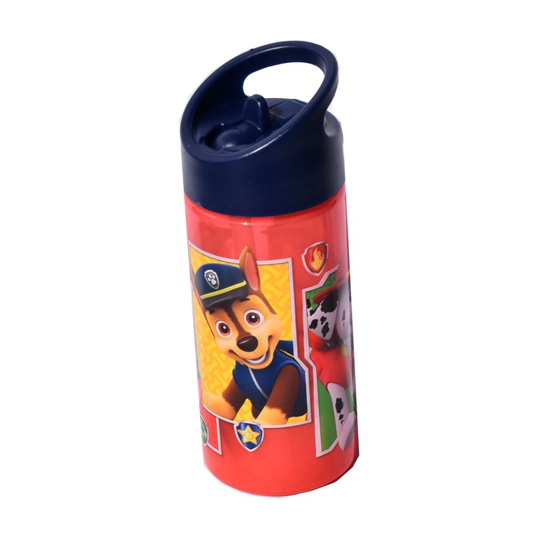 Sticla sport Paw Patrol patrula catelusilor rosie Disney, Multicolor, 350 ml