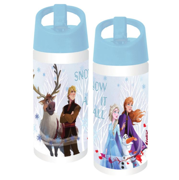 Bidon apa 400ml Frozen II blue