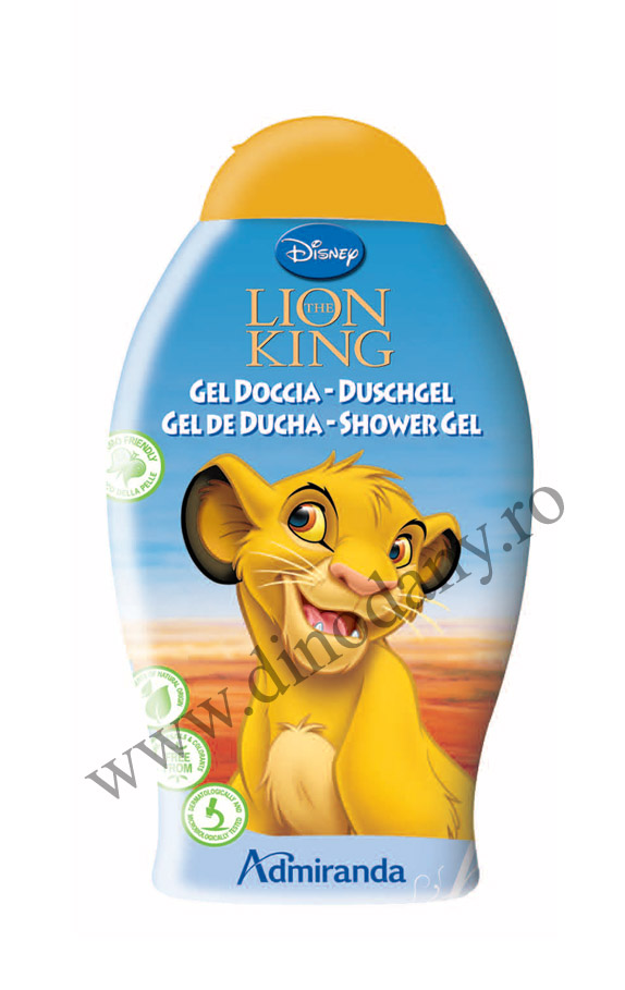 Lion King- gel de dus