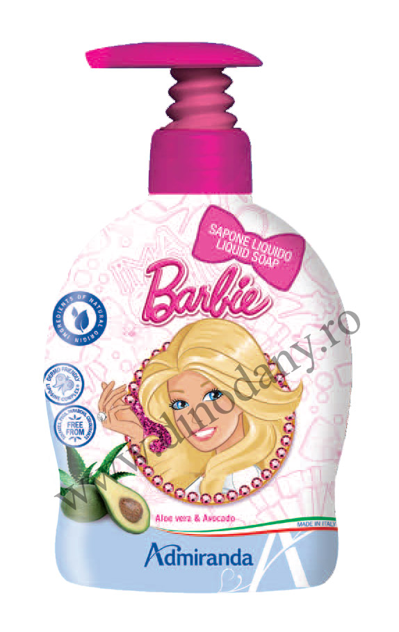 Disney Barbie sapun lichid