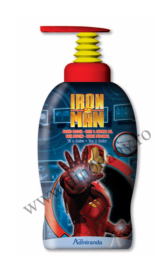Disney Iron Man gel de dus 1l