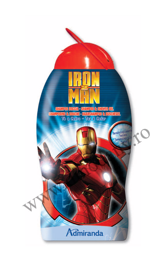 Disney Iron Man sampon si gel de dus