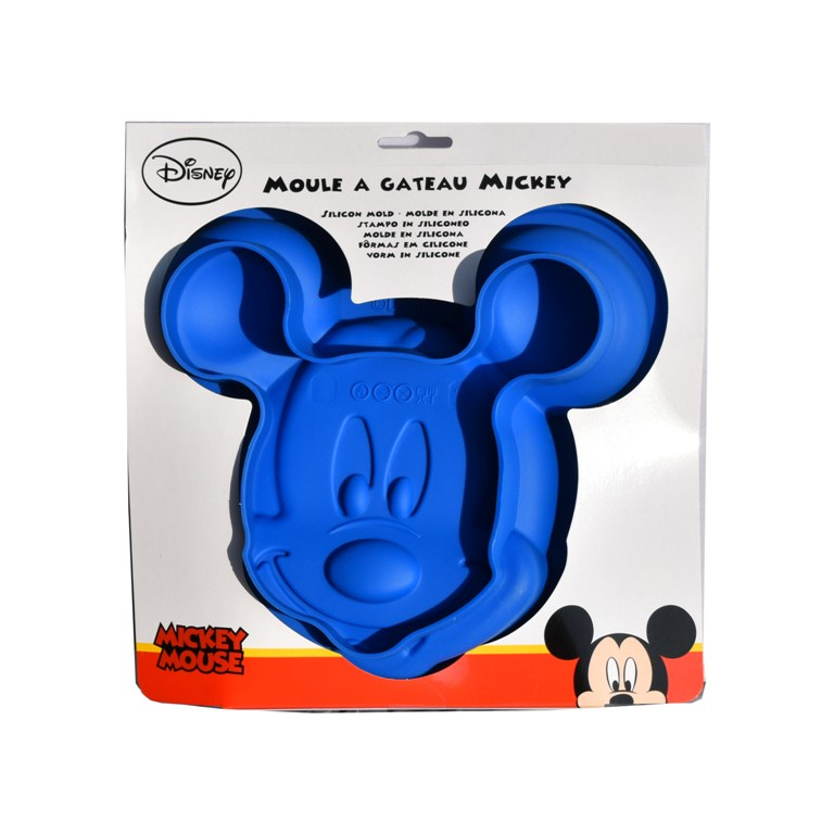 Forma silicon tort Mickey Mouse albastra