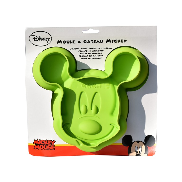 Forma silicon tort Mickey Mouse verde