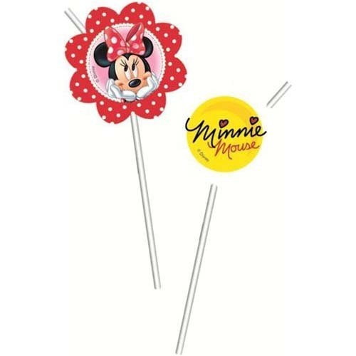 Set 6 paie flexibile medalion MINNIE MOUSE