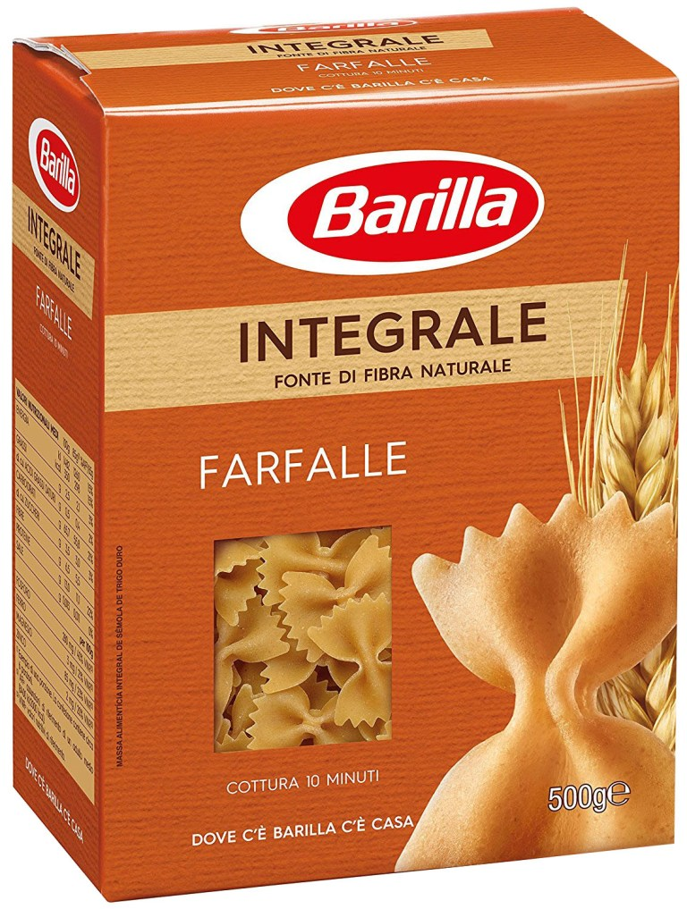 Paste barilla integrale fluturi,500g