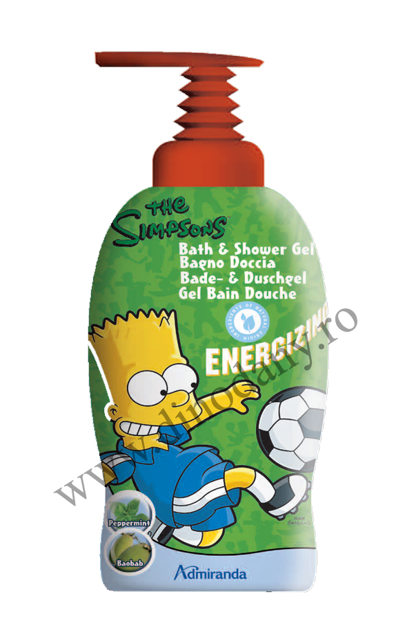 Simpsons Bart gel de dus 1L